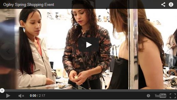 Ogilvy Spring Shopping Event