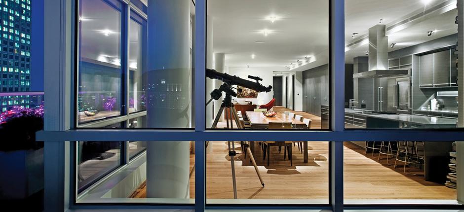 Urban Condo Mixte Magazine - Downtown-montreal-penthouse-by-rene-desjardins