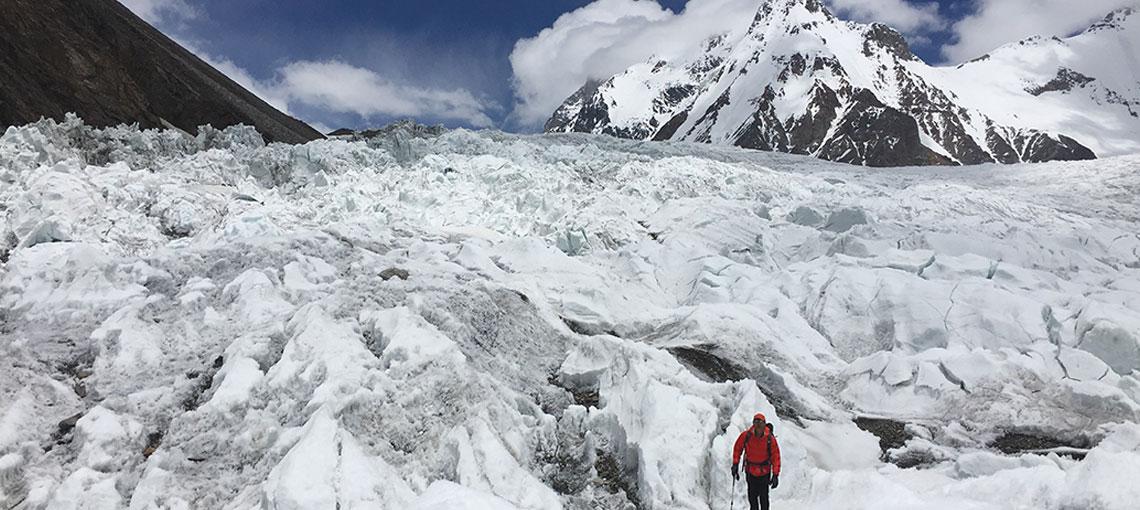 Serge Dessureault – Sets its sights on the mighty K2