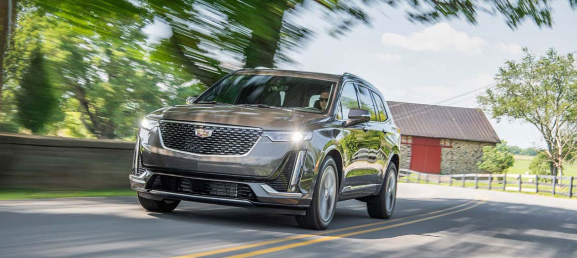 Six meticulous features that distinguish the all-new, three-row Cadillac XT6