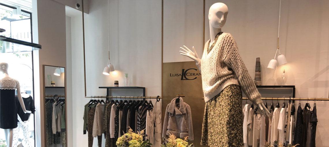 La marque Luisa Cerano :  des vêtements stylés et féminins