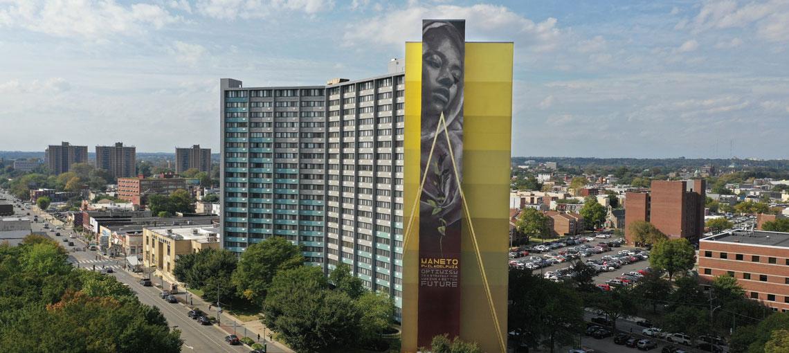 Faith XLVII, une artiste urbaine qui transforme nos villes
