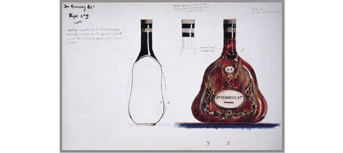 Hennessy, world reference for the quality of cognacs