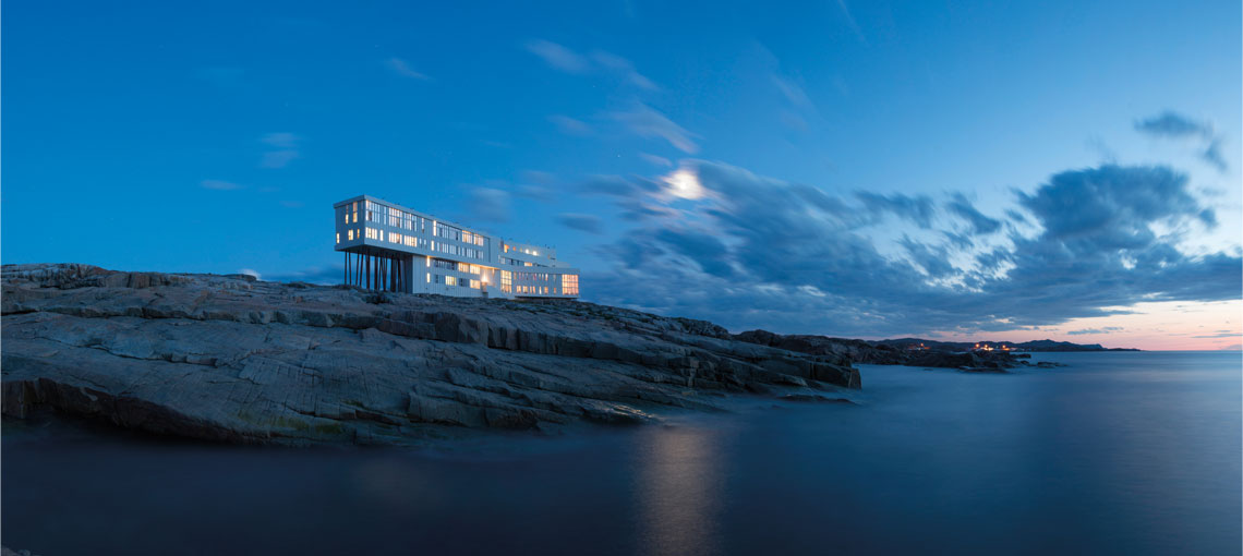 The Fogo Island Inn, a hotel on the edge of the earth.