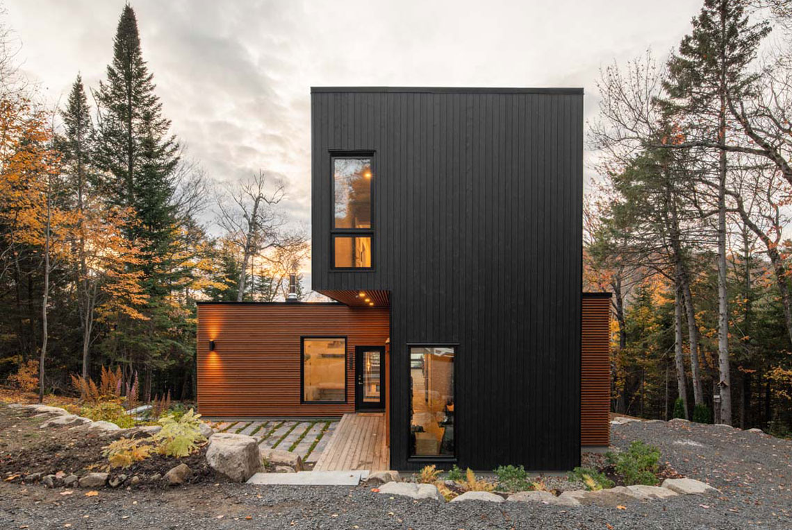 Prefabricated Country Home Set to be Certified LEED Gold