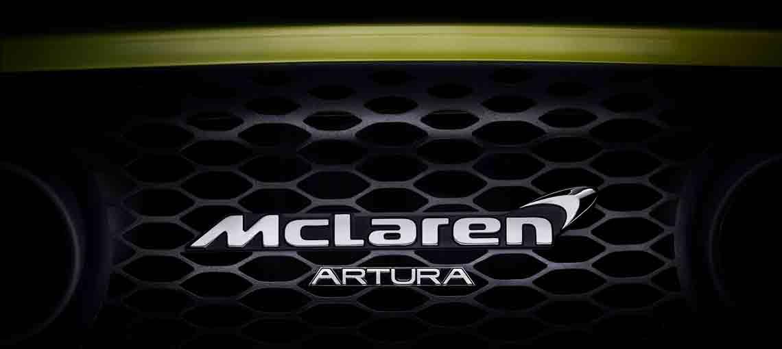 Dévoilement McLaren Artura