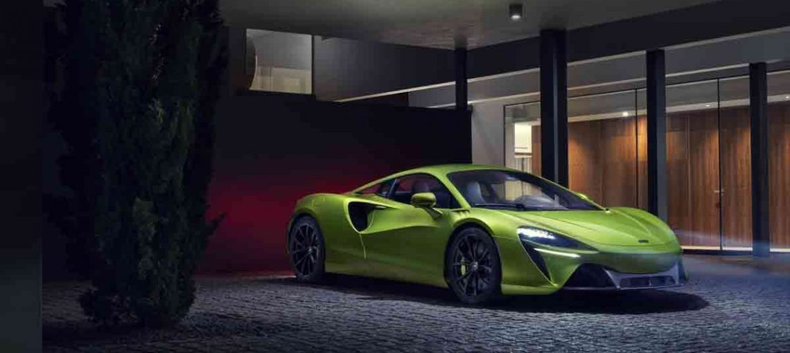 Unveiling of the McLaren Artura