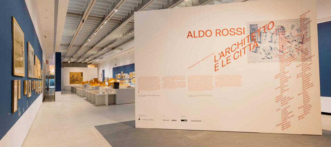 Aldo Rossi.  The architect and the cities