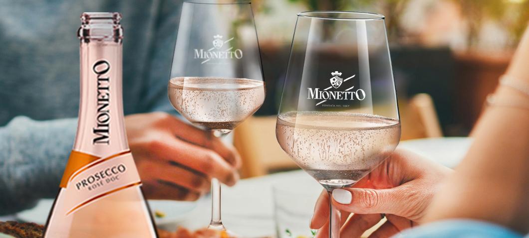 Célébrons l'été avec Mionetto Prosecco Rosé