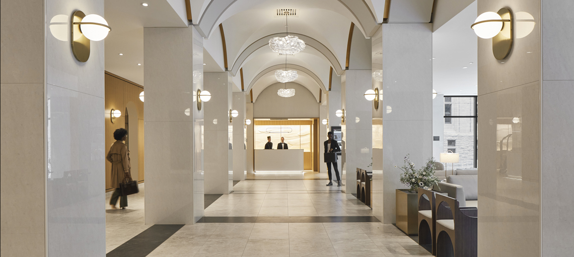 Sid Lee Architecture signs off on the transformation of the Marriott Château Champlain Hotel, an emblem of Montreal's modern heritage